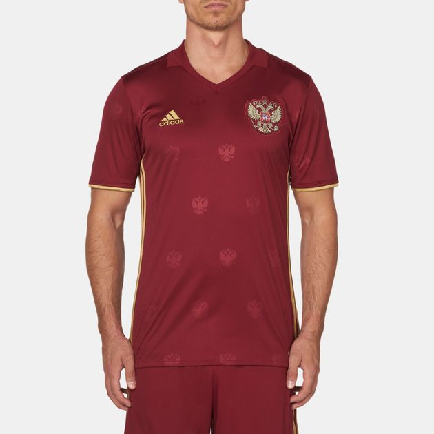 000f5373 Shop Red adidas Football Union of Russia Home Jersey for Mens by ...
