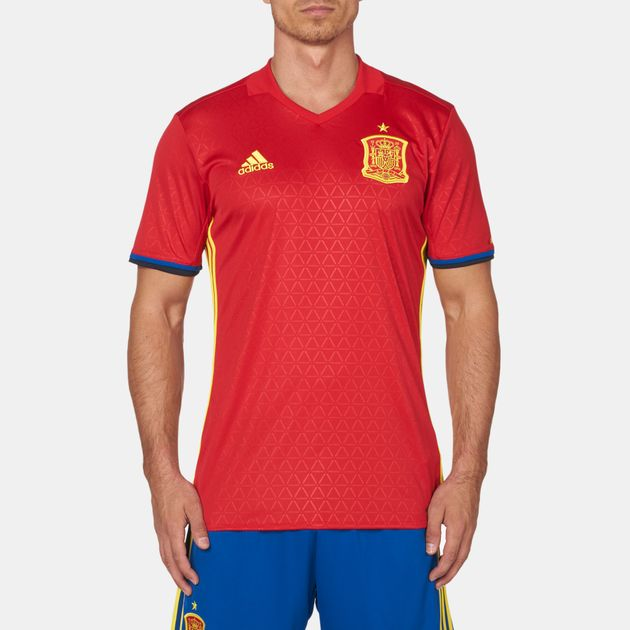 Shop Red adidas Spain Home Jersey for Mens by adidas  d675c6a47