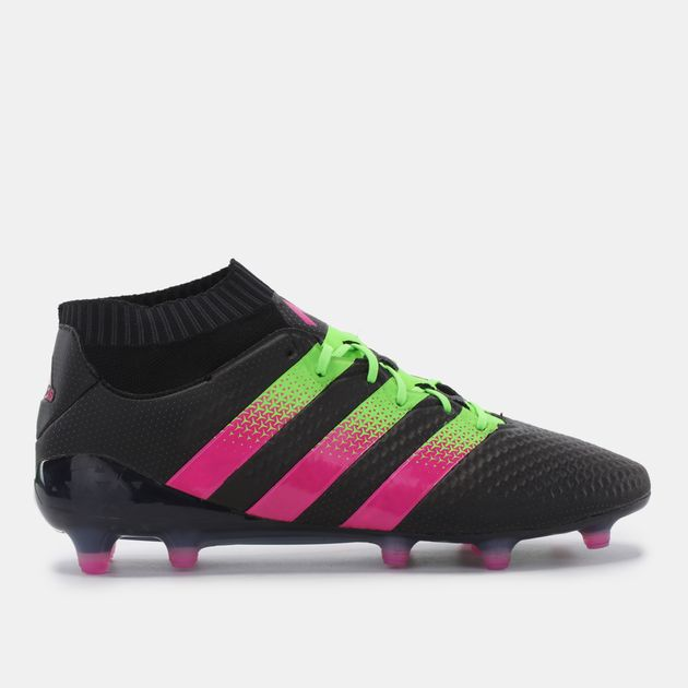 9d5be41eb Shop Black adidas Ace 16.1 Primeknit Firm Ground Artificial Ground ...