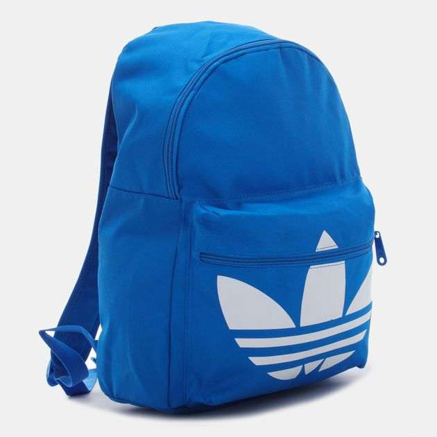 8657a56cef1b Shop Blue adidas Classic Trefoil Backpack for Unisex by adidas ...