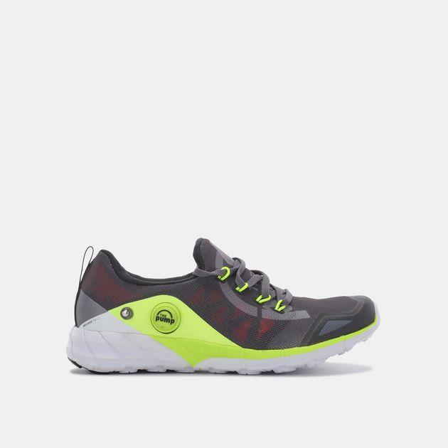 b5a644dd4db Shop Grey Reebok Kids  ZPump Fusion 2.0 Knit Shoe for Kids by Reebok ...