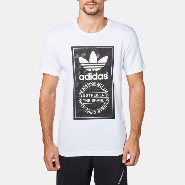 adidas Snow Camo Tongue Label T-Shirt