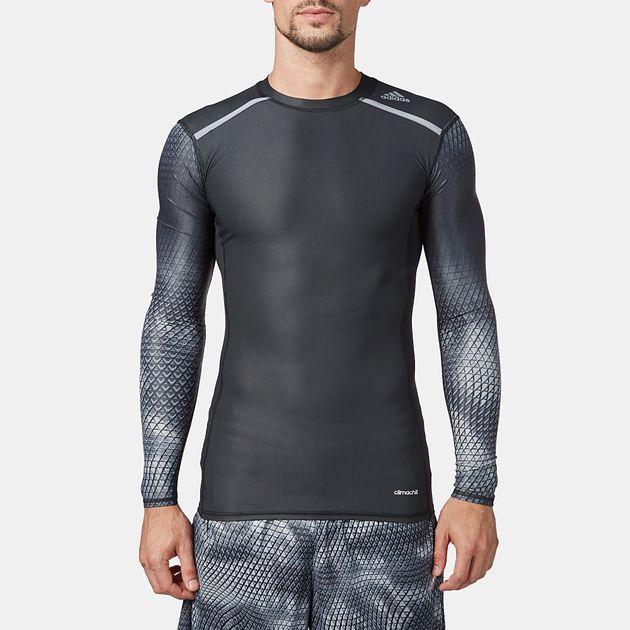 adidas TechFit™  Chill Long Sleeve T-Shirt