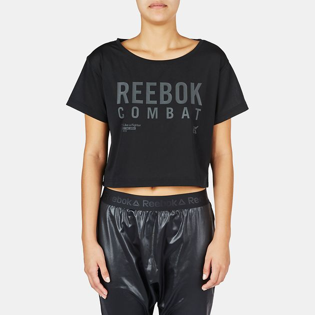 Reebok Combat Crop T-Shirt