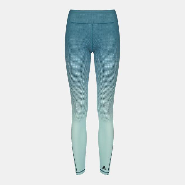 867db5e6edc Shop Blue adidas Miracle Sculpt Leggings for Womens by adidas   SSS