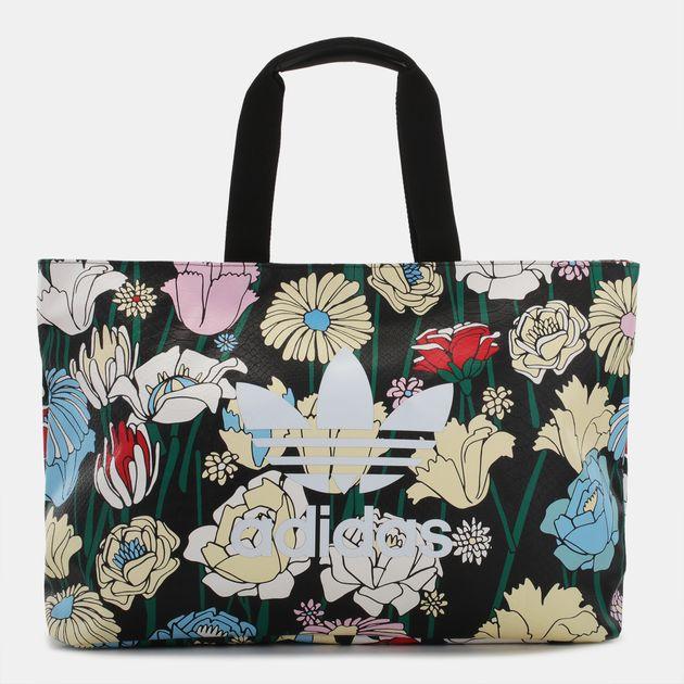 96b3d0424a Shop Multi adidas Originals Flowers Shopper Bag for Womens by adidas ...