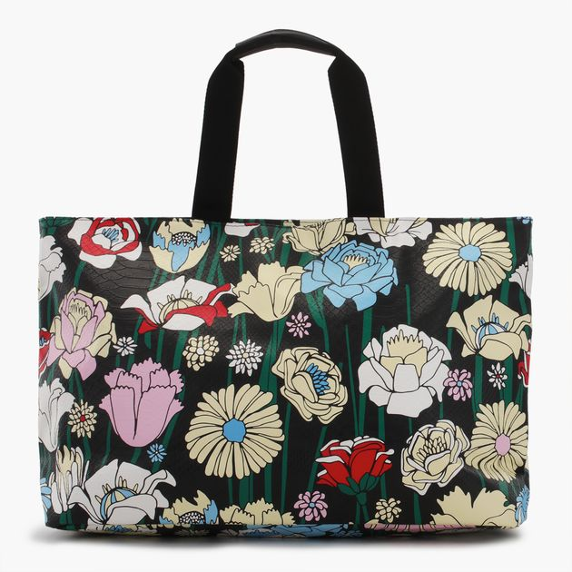 c199edb22f Shop Multi adidas Originals Flowers Shopper Bag for Womens by adidas ...