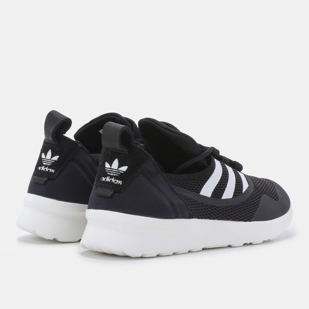 891fd4485d953 Shop Black adidas Originals ZX Flux ADV Virtue Shoe for Womens by ...