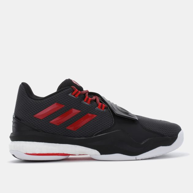 a01fc9e04d84 Shop Black adidas D Rose Englewood Boost Basketball Shoe for Mens by ...