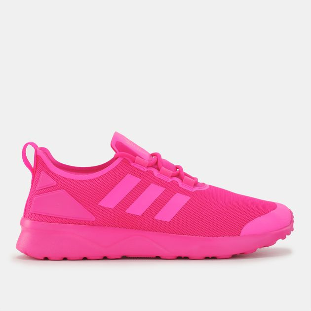 pretty nice 52799 7f77a Shop Pink adidas Originals ZX Flux ADV Verve Shoe for Womens ...