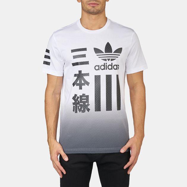 adidas Originals Black & White Bold T-Shirt
