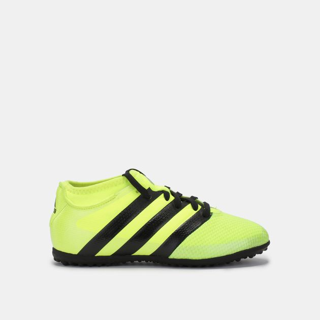 feb2c0764fd0 Shop Yellow adidas Kids  Ace 16.3 PRIMEMESH Turf Football Shoe for ...