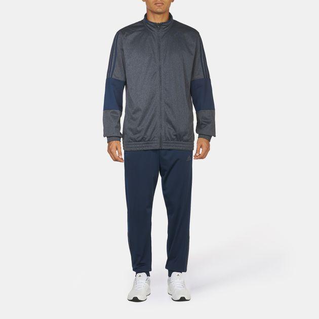 77ab96f17 Shop أزرق بدلة التمرين ايكونيك من اديداس for للرجال by adidas | سن ...