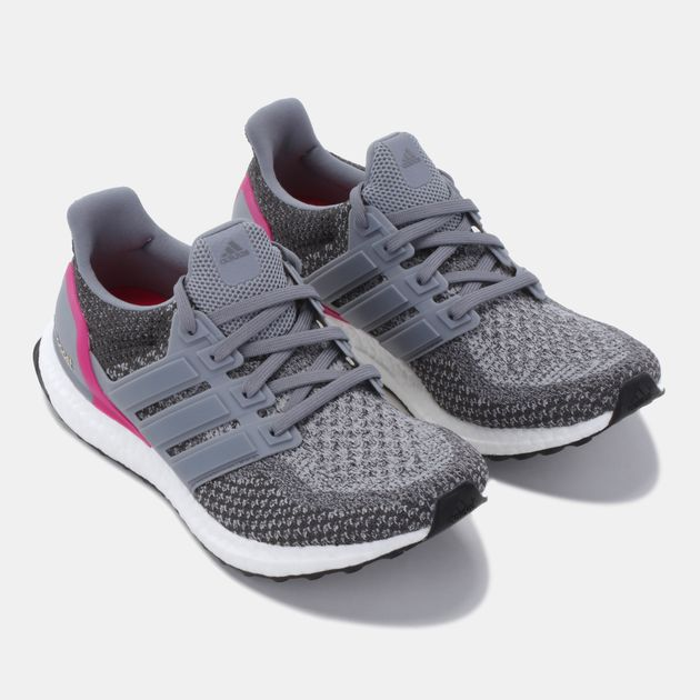 810a8ab7c3d49 Shop Grey adidas Ultraboost Running Shoe for Womens by adidas