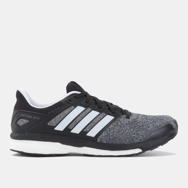 d51bb51f85c5 Shop Black adidas Supernova Glide 8 Running Shoe for Mens by adidas ...