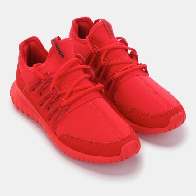 hot sale online ecfb5 5e559 Shop Red adidas Originals Tubular Radial Shoe for Mens by ...