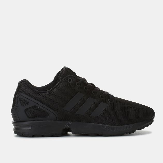 82d1056a1ade4 Shop Black adidas Originals ZX Flux Shoe for Mens by adidas ...