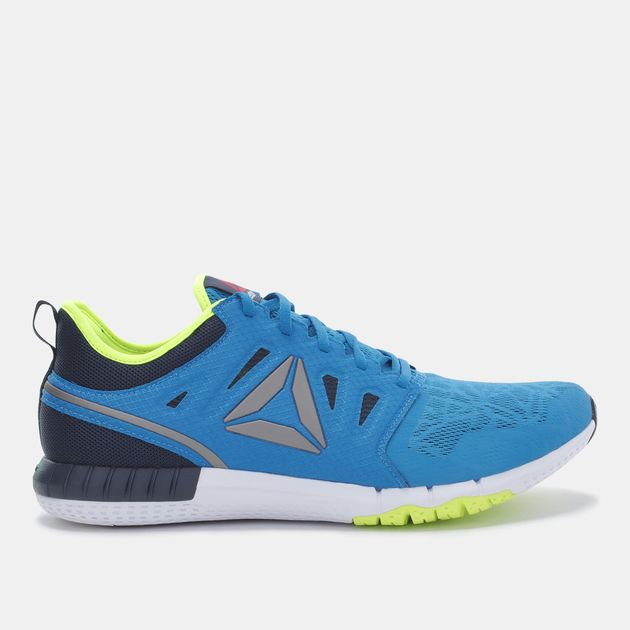 1c7c6f85986f9a Shop Blue Reebok ZPrint 3D Shoe for Mens by Reebok