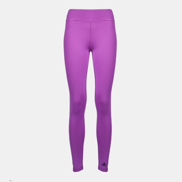 6c99754e53d047 Shop Purple adidas Workout Leggings for Womens by adidas | SSS