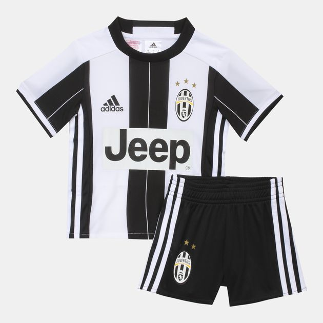 the best attitude fdbcf 23aa6 Shop White adidas Kids' Juventus Home Football Kit for Kids ...