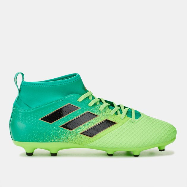 Shop Green adidas Ace 17.3 PRIMEMESH Firm Ground Football