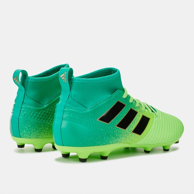 super popular 6281c b33f6 Shop Green adidas Ace 17.3 PRIMEMESH Firm Ground Football ...