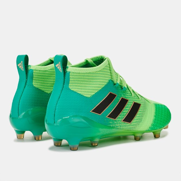 cheaper 0494c d3666 Shop Green adidas Ace 17.1 Primeknit Firm Ground Football ...