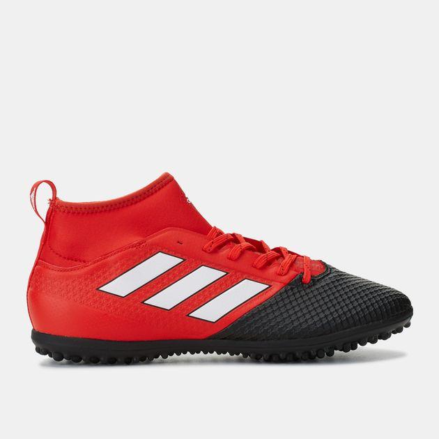 4c8c30998da Shop Red adidas Ace 17.3 Primemesh Turf Ground Football Shoe for ...