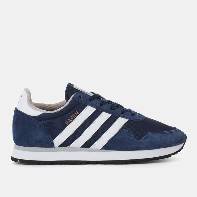 f0f56380 Shop Blue adidas Originals Haven Shoe for Mens by adidas Originals | SSS