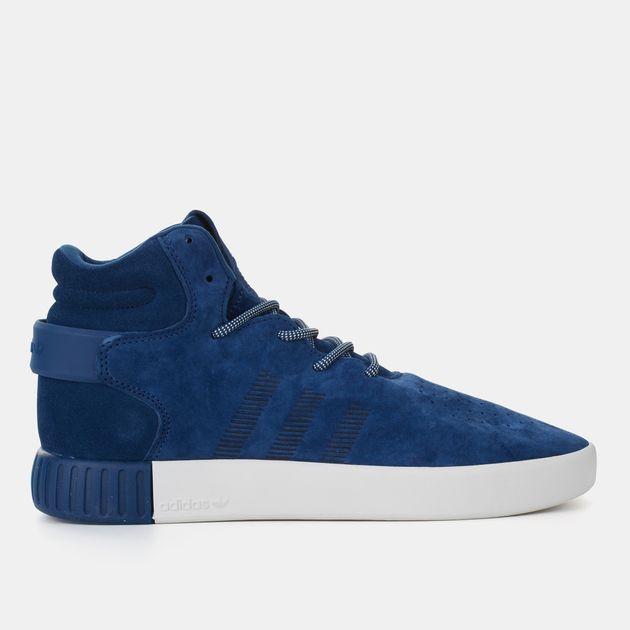 adf32014 Shop Blue adidas Originals Tubular Invader Shoe for Mens by adidas | SSS