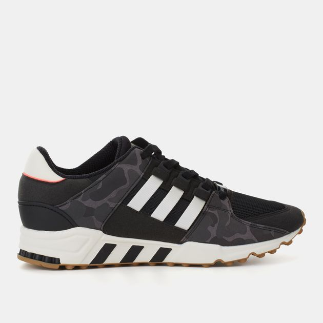 online retailer 3d62c 45ae4 Shop Black adidas Originals EQT Support RF Shoe for Mens by ...