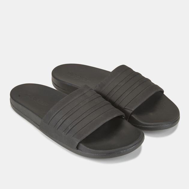 a5ffaa9df adidas Adilette Cloudfoam Plus Mono Slides