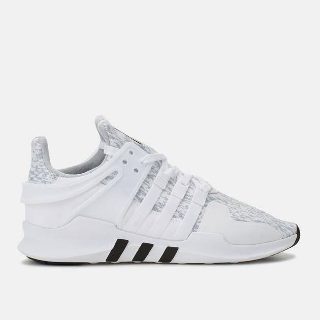 online retailer b2ae5 6fbde Shop White adidas Originals EQT Support ADV Shoe for Mens by ...