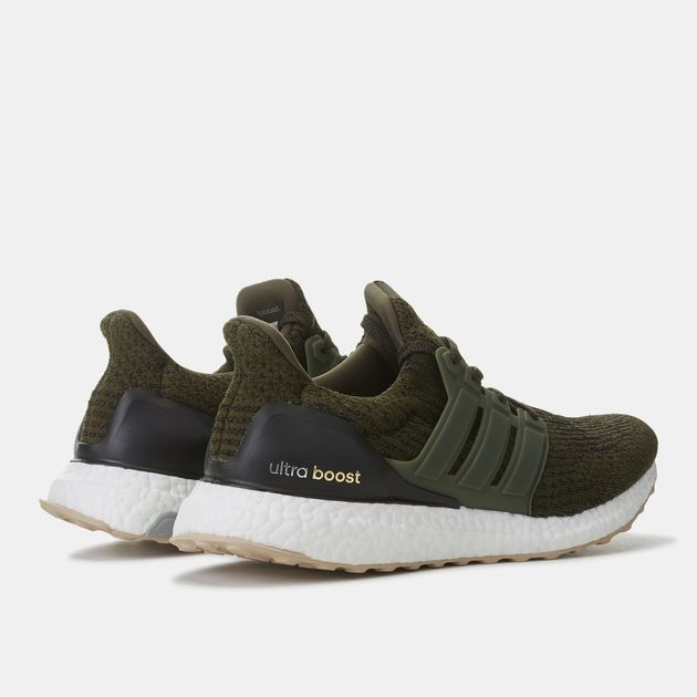 finest selection bcd40 fef81 Shop Green adidas Ultra Boost Night Cargo Shoe for Mens by ...