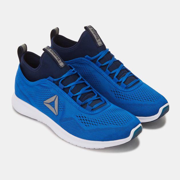 d6c1049f8a3 Shop Black Reebok Plus Runner Tech Shoe for Mens by Reebok