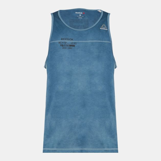 Reebok Combat Spray Dye Tank Top | Tank Tops | Tops | Clothing
