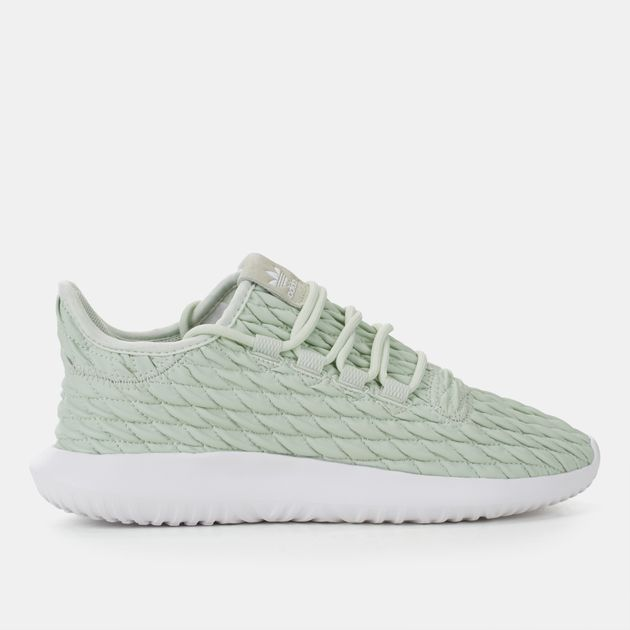 new style d755f d2bcc Shop Green adidas Originals Tubular Shadow Shoe for Womens ...