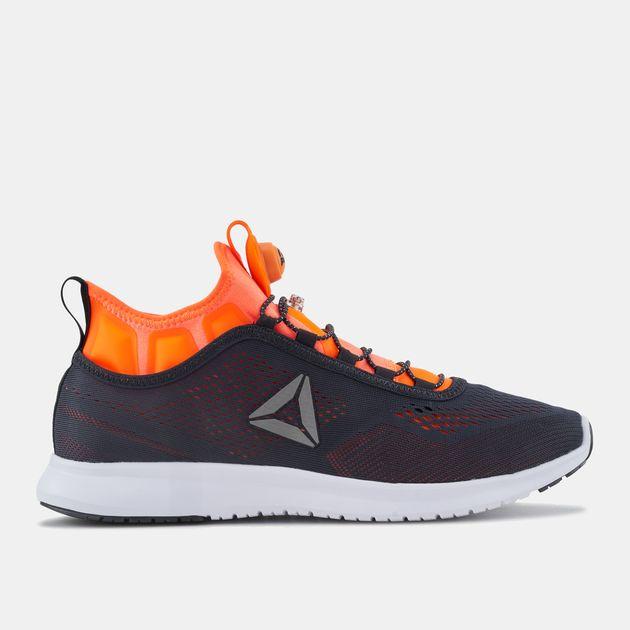 aec3dc095fd Shop Black Reebok Pump Plus Tech Running Shoe for Mens by Reebok