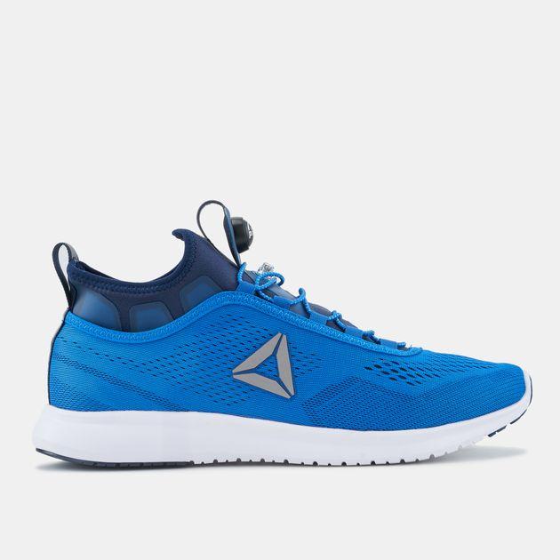793b102f1ee Shop Blue Reebok Pump Plus Tech Running Shoe for Mens by Reebok