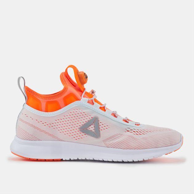 9c94fa6d9e0 Shop White Reebok Pump Plus Tech Running Shoe for Womens by Reebok