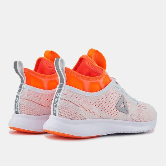 ab60f940ac3991 Shop White Reebok Pump Plus Tech Running Shoe for Womens by Reebok