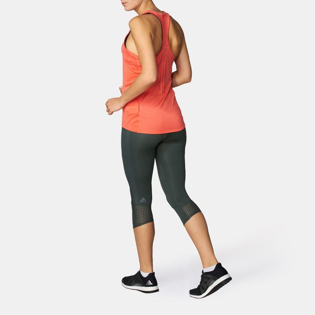 45350f17675 Shop Grey adidas Supernova 3/4 Capri Leggings for Womens by adidas | SSS