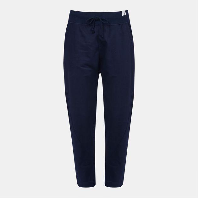 1138cf05e801 Shop Blue adidas Originals XbyO Pants for Womens by adidas Originals ...