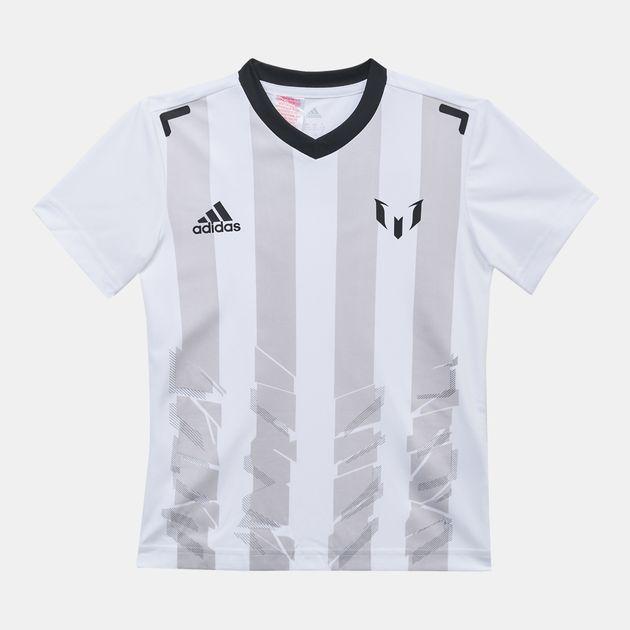 39e5b3c546a adidas Kids' Messi Icon T-Shirt | T-Shirts | Tops | Clothing | Kids ...