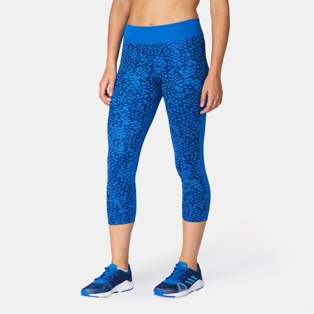 54e82862164ae adidas D2M 3/4 Leggings | Capri Leggings | Leggings | Clothing ...