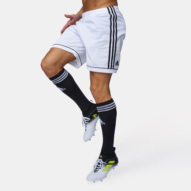 bc5c6d81a Shop White adidas Squadra 17 Football Shorts for Mens by adidas | SSS