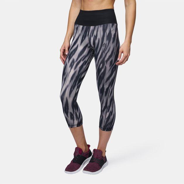 adidas Ultimate 3/4 Printed Capri Leggings