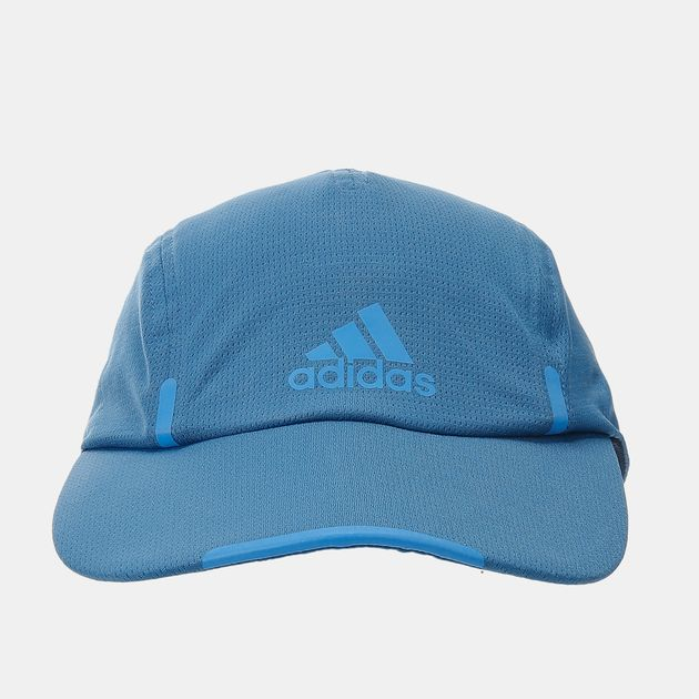 80187941aea Shop Blue adidas Run Climacool Running Cap for Unisex by adidas