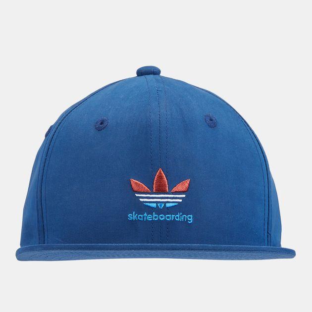 2a2b3d7b0c7 adidas Nautical Trefoil Snapback Cap - Blue