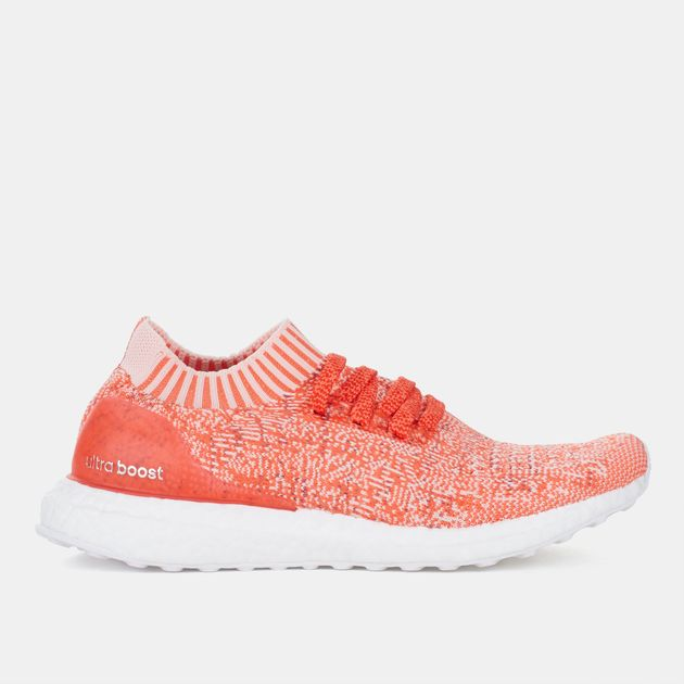 20571a3330ce7 Shop Red adidas UltraBOOST Uncaged Running Shoe for Womens by adidas ...